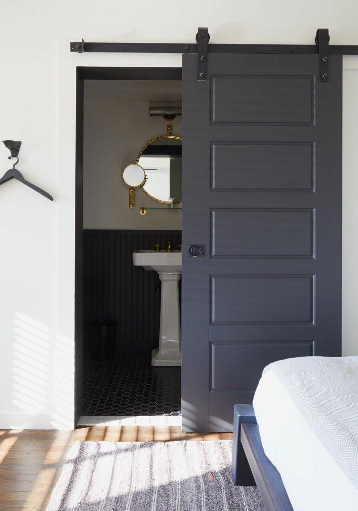 انواع درب های داخلی ساختمان