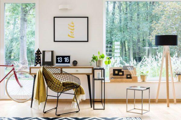 ایده های جذاب برای طراحی دکوراسیون اتاق کار در خانه