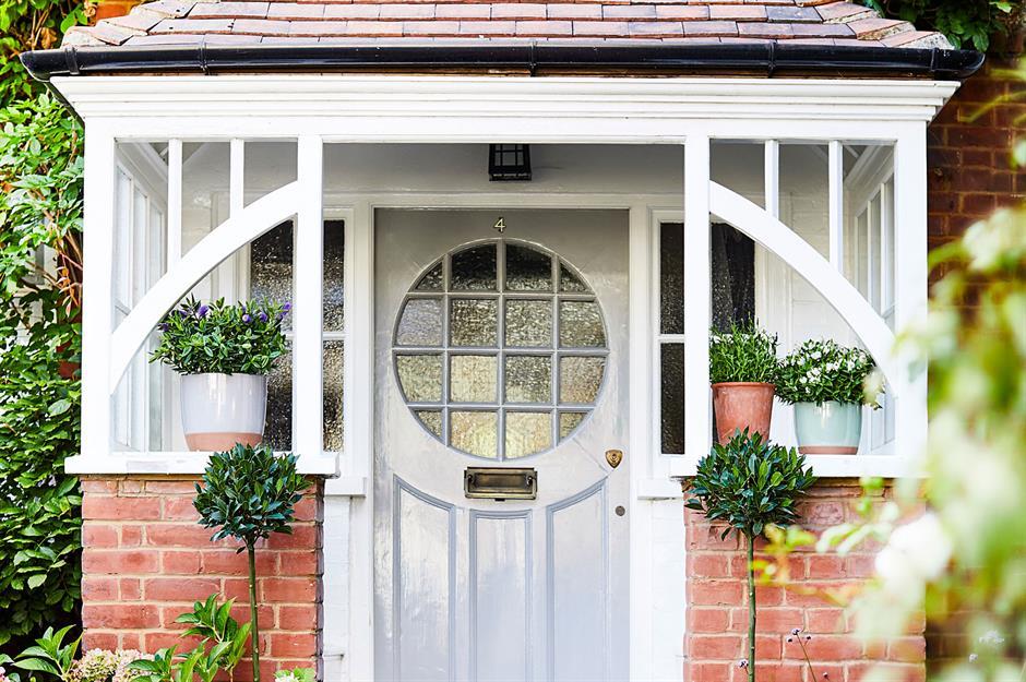 درب ورودی خانه خود را با ایده های افسانه ای متفاوت، تزئین کنید
