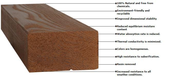 فناوری ترمووود و شرایط آماده سازی چوب ها