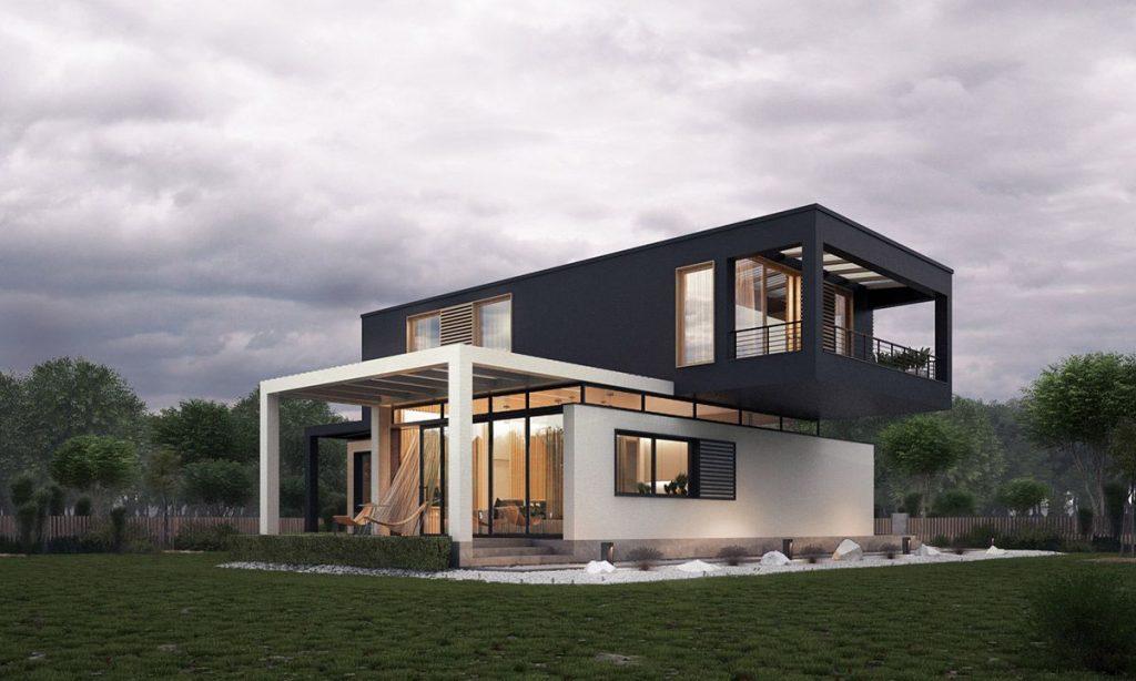 ایده های طراحی نمای ساختمان به سبک مدرن و متفاوت