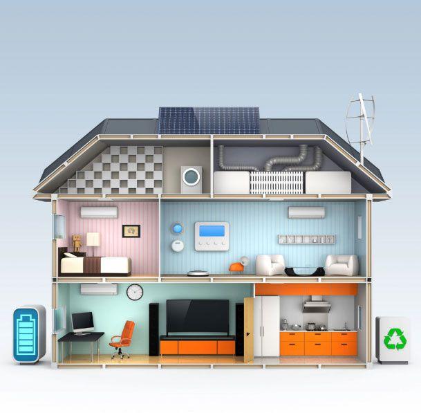 فناوری ساختمان هوشمند در خانه هوشمند