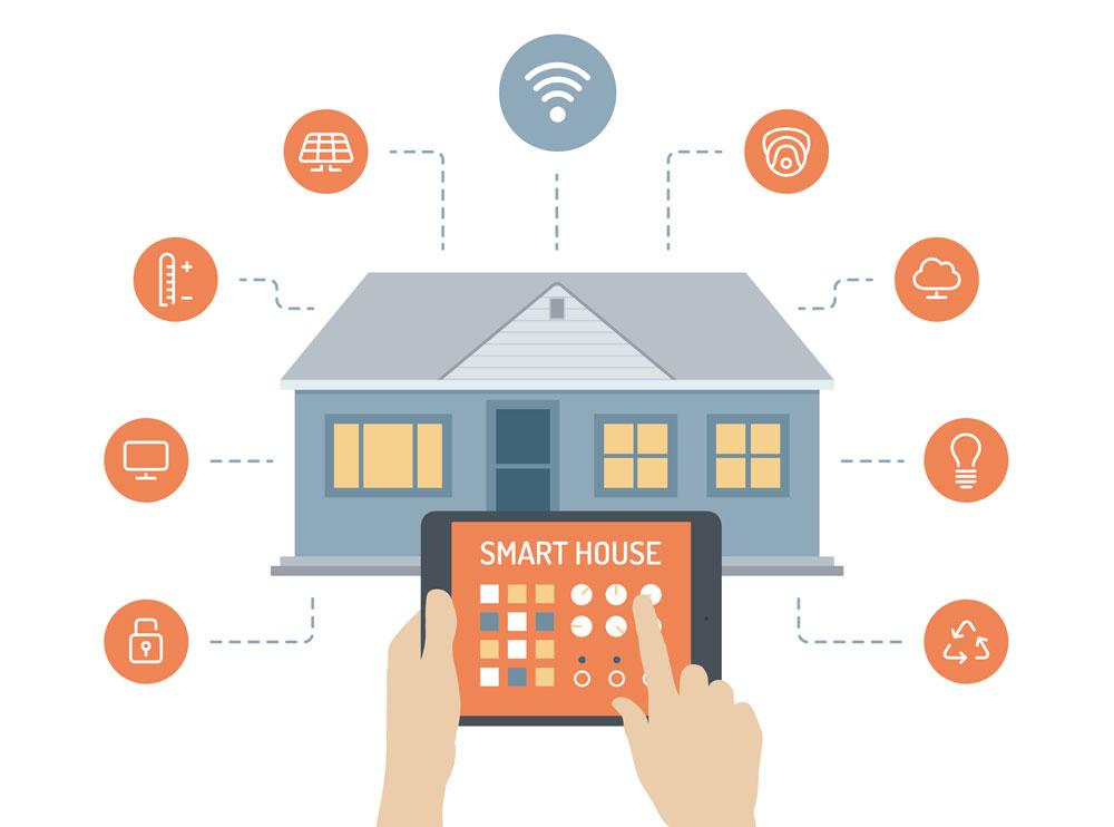 مزایای فناوری خانه هوشمند