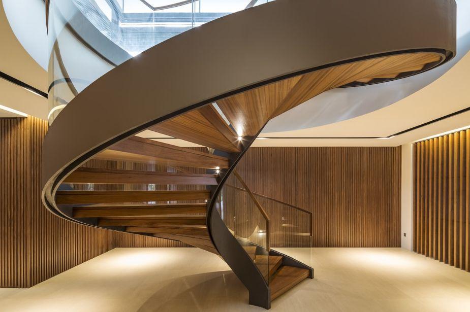 انواع مدل های پلکان در ساختمان