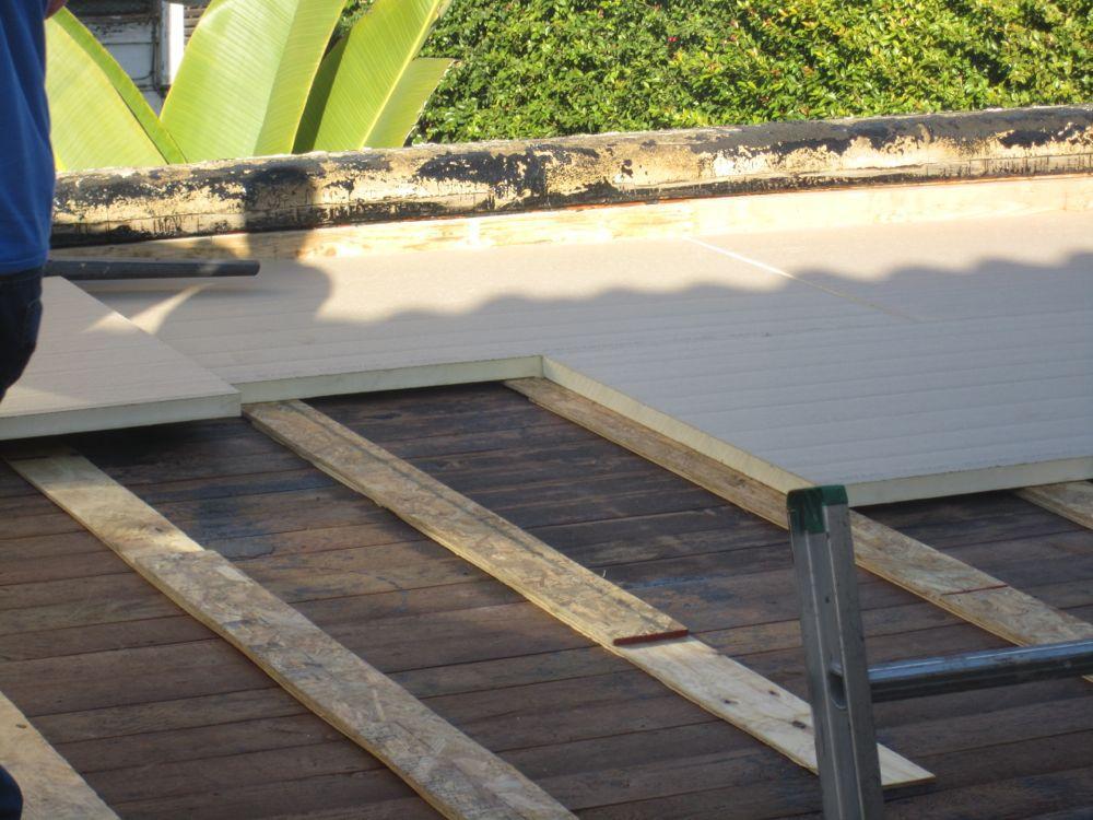 عایق سازی سقف ساختمان