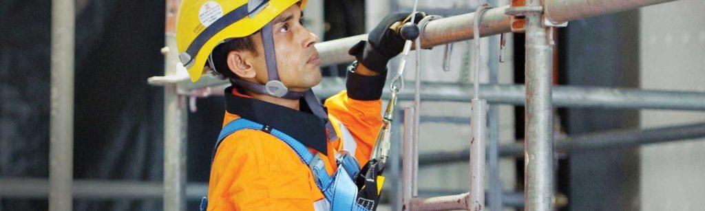 کنترل موقعیت پروژه برای کار در ارتفاعات