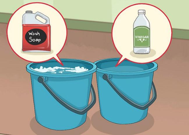 راهکار کلی برای تمیز کردن دیوارها