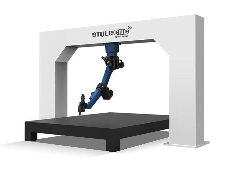دستگاه برش لیزری سه بعدی مجهز به ربات برش دهنده