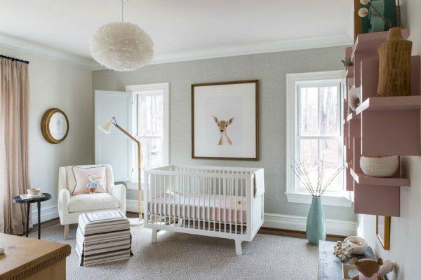 انتخاب بهترین رنگ ها برای دکوراسیون اتاق نوزادان