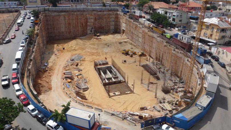 گودبرداری ساختمان به روش حفاری باز