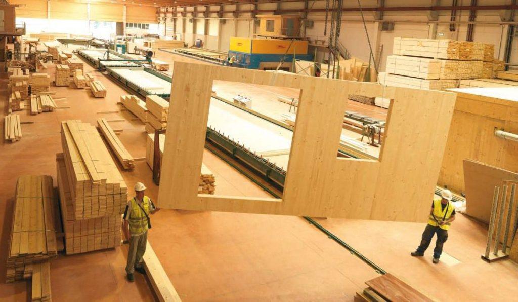 ساخت درب های چوبی در کارخانه