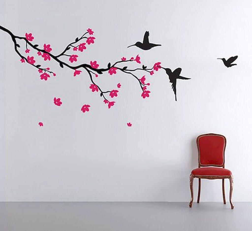 تزیین اتاق,نقاشی اتاق خواب,تزیین دیوار,