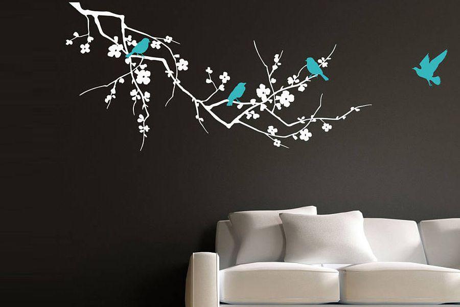 ایده های جذاب و خیره کننده برای نقاشی دیوار اتاق