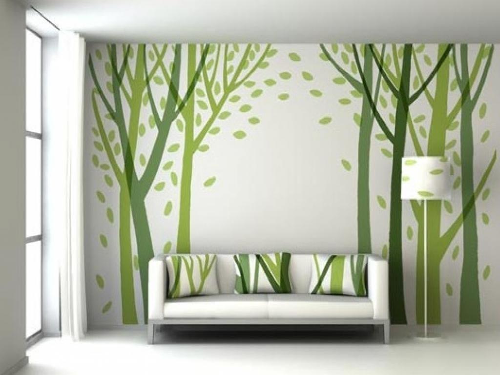 انتخاب رنگ ها برای نقاشی دیوار