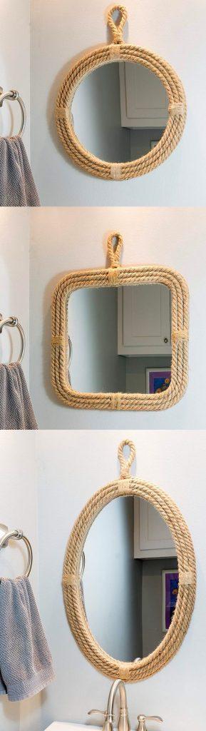 ایده های تزئینی برای قاب انواع آینه ها
