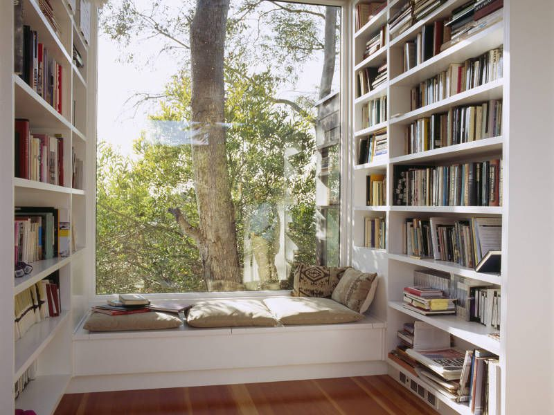 نکات مهم در طراحی کتابخانه منزل