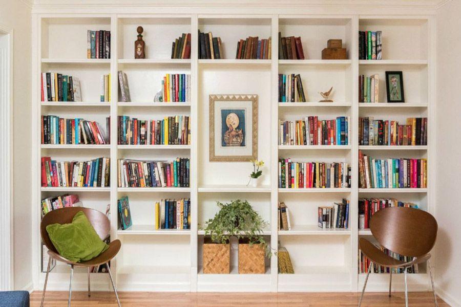 ۲۰ ایده زیبا و جذاب برای طراحی کتابخانه های منزل