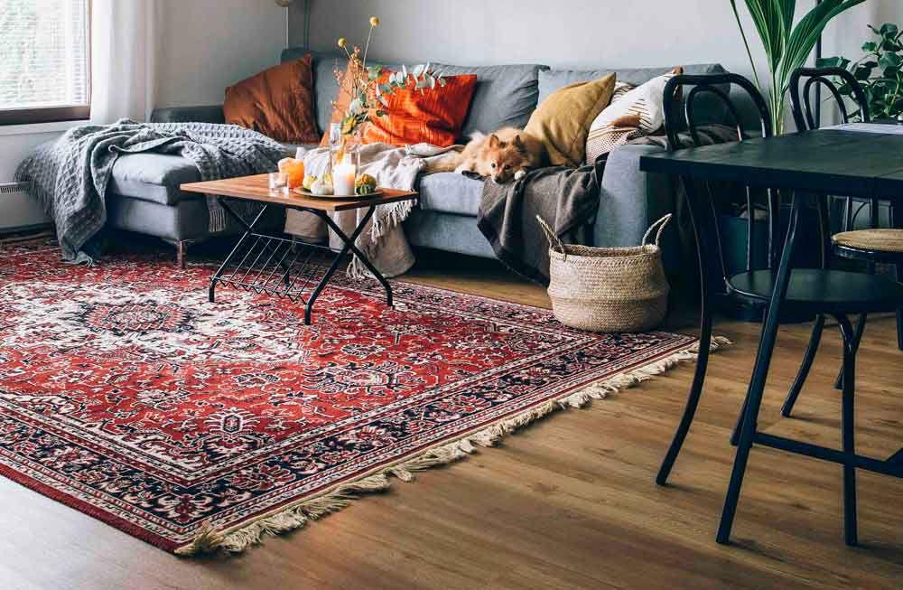 5 اصل مهم در انتخاب و خرید فرش مناسب برای آپارتمان