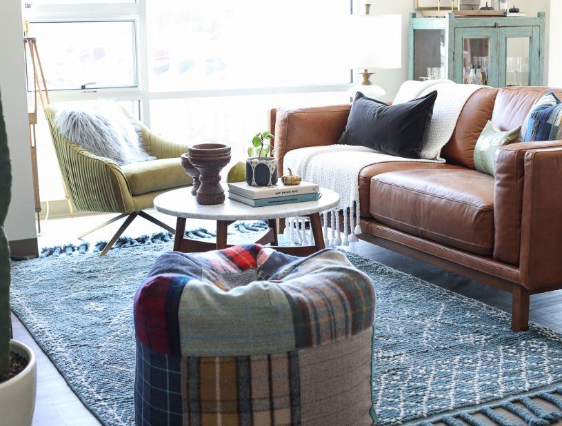 توجه به نرمی و راحتی فرش ها