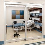 طراحی درب های بیمارستان و مراکز خدمات درمانی