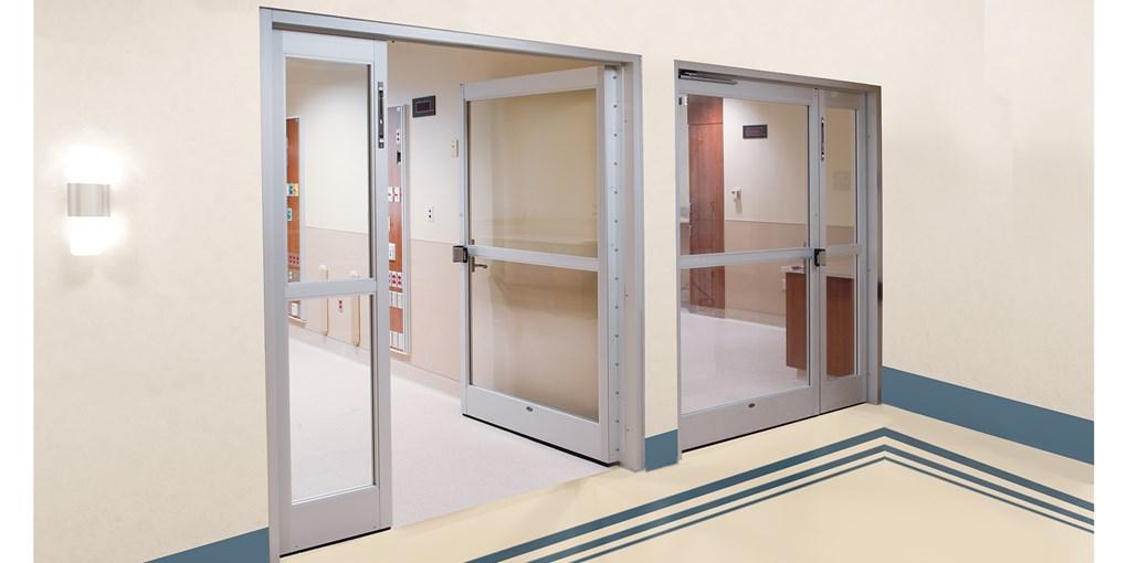جنس درب های بیمارستان