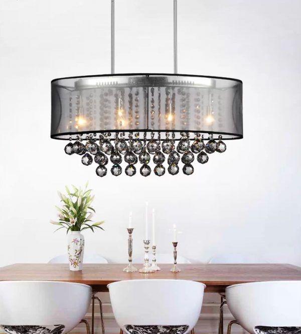 زیباترین لوسترهایی که برای اتاق ناهارخوری می توانید نصب کنید
