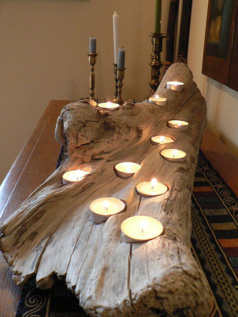 چگونه از چوب در دکوراسیون استفاده کنیم؟