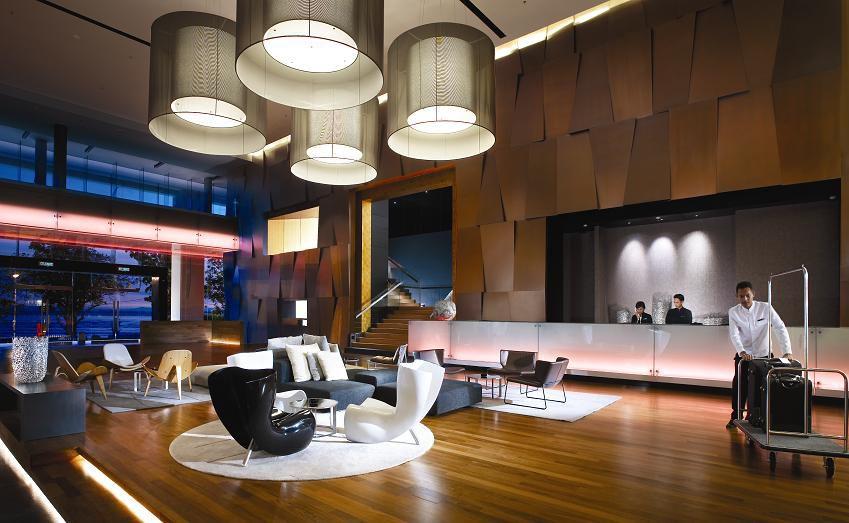 طراحی دکوراسیون داخلی هتل ها در قسمت لابی هتل