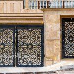 حس زیبایی با 12 مدل از درب های فلزی ساده و جذاب