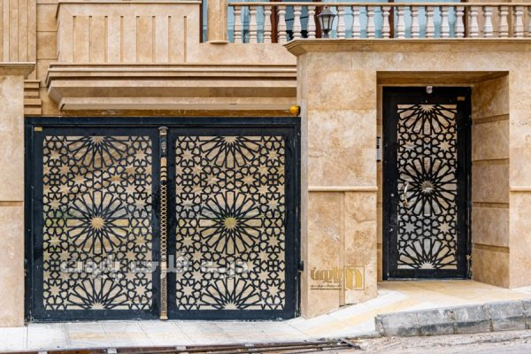 حس زیبایی شناسی با ۱۰ مدل از درب های فلزی ساده و جذاب