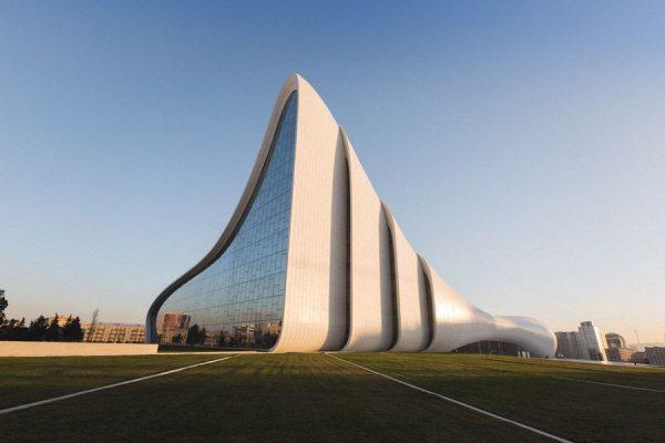 سازه های منحنی در معماری نوین ساختمانی