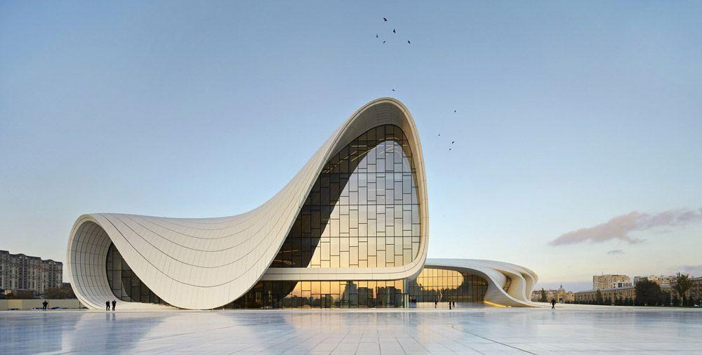 فناوری پشتیبانی از سازه های منحنی در معماری ساختمان