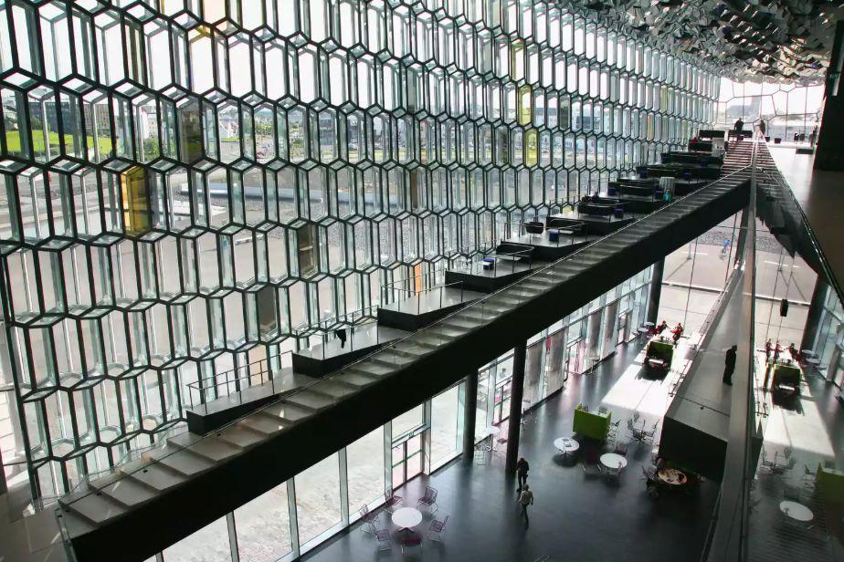 مرکز کنفرانس و سالن کنسرت هارپا در ایسلند
