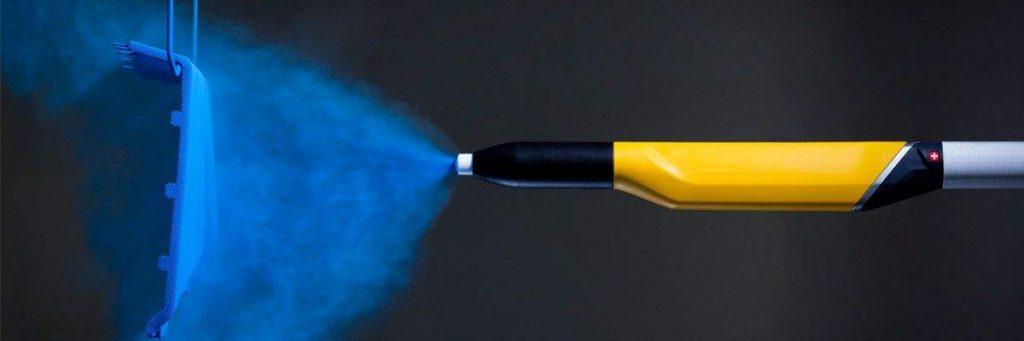 رنگ آمیزی کوره ای - الکترواستاتیک درب های فلزی در کارخانه