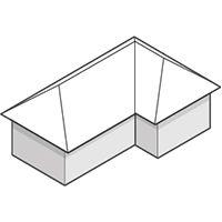 سقف ساختمانی به صورت ترکیبی