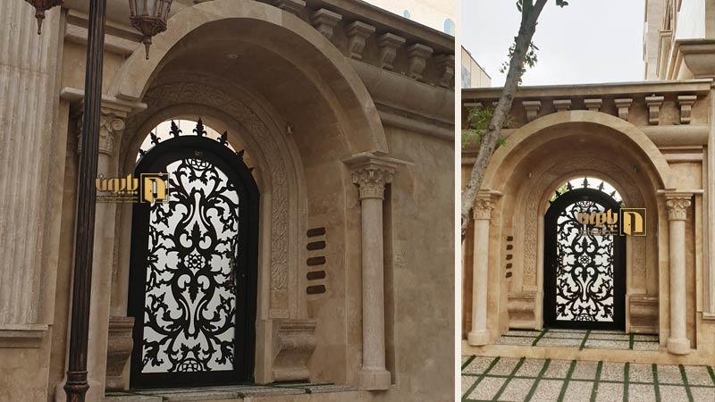 درب نفررو هلالی در شیراز