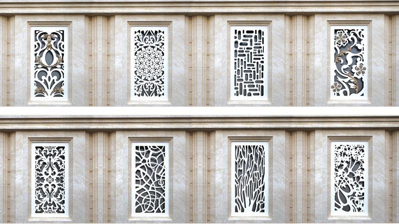 حفاظ پوششی فلزی ساختمان