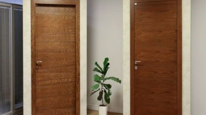 مقایسه درب فلزی با درب چوبی مدرن