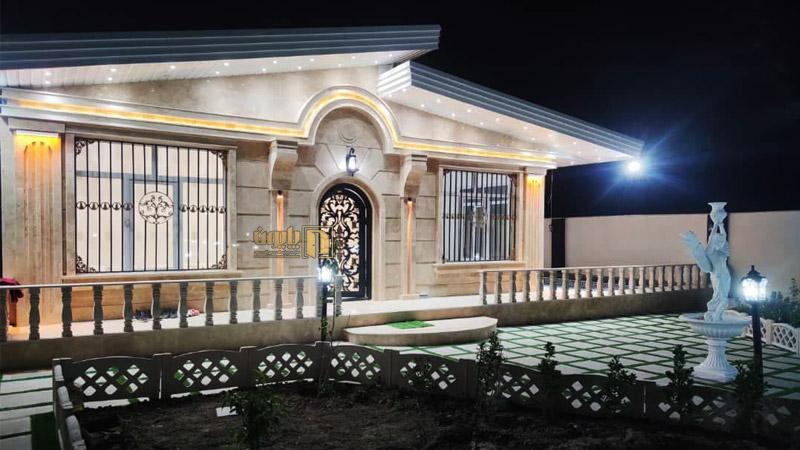 درب ویلا هلالی در منطقه باسمنج تبریز